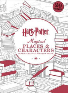 Harry Potter Magical Places & Characters Postcard Coloring Book - 2844862644