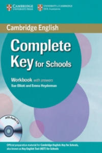 Complete Key for Schools Workbook with Answers with Audio CD - 2826841040