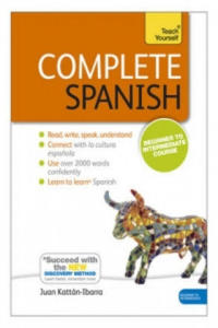 Complete Spanish, Coursebook and 2 Audio-CDs (MP3 compatible) - 2836091537