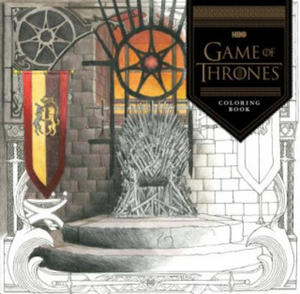HBO`s Game Of Thrones Coloring Book - 2838461311