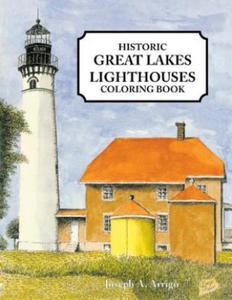 Great Lakes Lighthouse Coloring Book - 2848125917