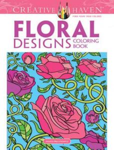 Floral Designs Coloring Book - 2826632496