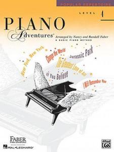 Piano Adventures, Level 4, Popular Repertoire - 2905719810