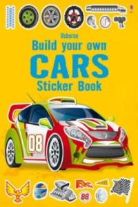 Build Your Own Car Sticker Book - 2880450036