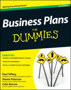 Business Plans For Dummies - 2854289175