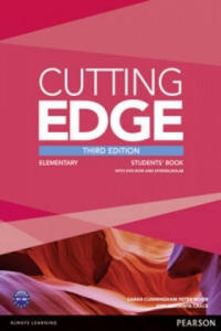 Cutting Edge 3rd Edition Elementary Students' Book and DVD Pack - 2869661368