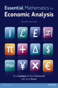 Essential Mathematics for Economic Analysis - 2826993183