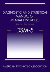 Diagnostic and Statistical Manual of Mental Disorders (DSM-5 - 2826676141