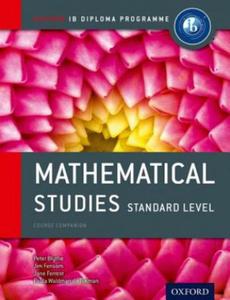 IB Mathematical Studies Sl Course Book: Oxford IB Diploma Pr - 2826684997