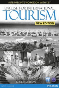 English for International Tourism Intermediate New Edition Workbook with Key and Audio CD Pack - 2841421602