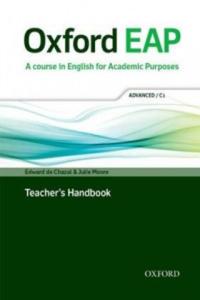 Oxford EAP: Advanced/C1: Teacher's Book, DVD and Audio CD Pack - 2854290892