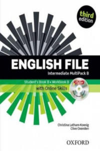 English File third edition: Intermediate: MultiPACK B with Oxford Online Skills - 2834686819
