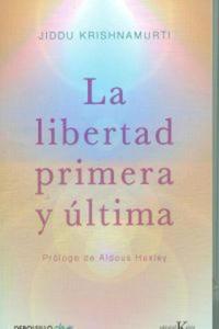 LIBERTAD PRIMERA Y ULTIMA, LA(9788499087467) - 2900290201