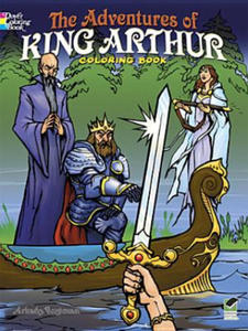 Adventures of King Arthur Coloring Book - 2873611472