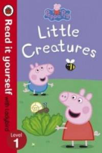 Peppa Pig: Little Creatures - Read it Yourself with Ladybird - 2826812856
