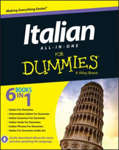 Italian All-in-One For Dummies - 2826731512