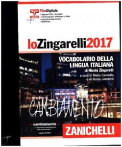 Lo Zingarelli 2017, m. DVD - 2844391782
