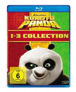 Kung Fu Panda 1-3, 3 Blu-ray - 2837898241