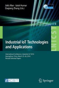 Industrial IoT Technologies and Applications - 2841668228