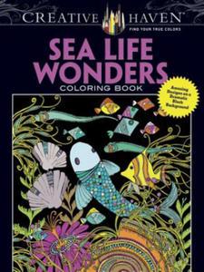 Creative Haven Sea Life Wonders Coloring Book - 2836094597