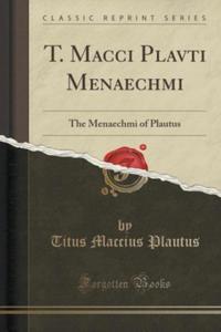 T. Macci Plavti Menaechmi - 2853794801
