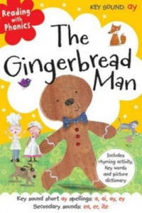 Reading With Phonics Gingerbread Man - 2842079165