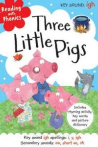 Reading With Phonics Three Little Pigs - 2854294584