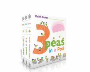 3 Peas in a Pod: Lmno Peas; 1-2-3 Peas; Little Green Peas - 2873157648