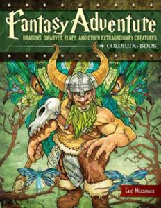 Fantasy Adventure Coloring Book - 2839142685