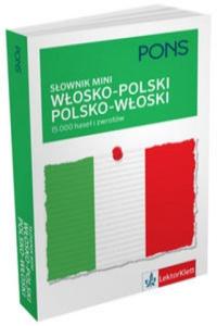 Slownik mini wlosko-polski, polsko-wloski. 15 000 hasel i zwrotow. - 2842366788