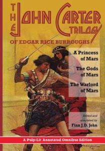 The John Carter Trilogy of Edgar Rice Burroughs - 2845101105