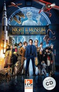 Night at the Museum - Battle of the Smithsonian, m. 1 Audio-CD. Level 3 (A2) - 2878365498