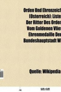 Orden und Ehrenzeichen (Österreich) - 2826911065