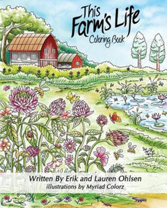 This Farm's Life Adult Coloring Book - 2838785853
