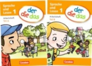 1. Schuljahr, Sprache und Lesen - Arbeitsheft Teil A und B, 2 Hefte - 2826690113