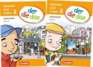 2. Schuljahr, Sprache und Lesen - Arbeitsheft Teil A und B, 2 Hefte - 2826845723