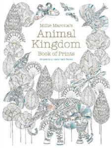 Millie Marotta's Animal Kingdom Book of Prints - 2904623592
