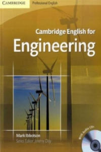 Cambridge English for Engineering, w. 2 Audio-CDs - 2841423857