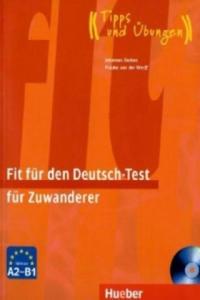 Fit für den Deutsch-Test für Zuwanderer, m. Audio-CD - 2827015797