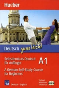Selbstlernkurs Deutsch f�r Anf�nger / A German Self-Study Course for Beginners, Textbuch + Arbeitsbuch + 2 Audio-CDs - 2827066131