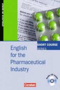 English for the Pharmaceutical Industry, m. Audio-CD - 2856484036