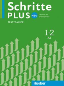 Schritte plus Neu 1+2. Testtrainer mit Audio-CD - 2863720147