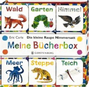 Die kleine Raupe Nimmersatt - Meine Bücherbox - 2846352174