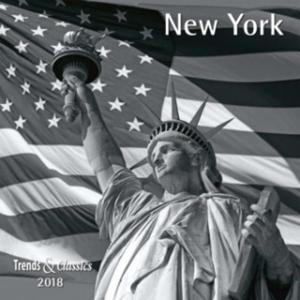 New York 2018 - Broschürenkalender - Wandkalender - mit herausnehmbarem Poster - Format 30 x 30 cm - 2845098349