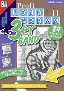 Profi-Nonogramm 3er-Band. Nr.11 - 2847849319