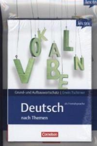 lex:tra Grund- und Aufbauwortschatz Deutsch als Fremdsprache nach Themen, Übungsbuch Grundwortschatz und Lernwörterbuch, 2 Bde. - 2826792778