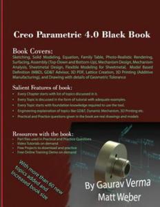 Creo Parametric 4.0 Black Book - 2857570865