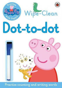 Peppa Pig: Practise with Peppa: Wipe-clean Dot-to-Dot - 2879054383