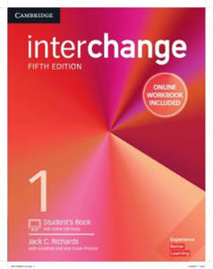 Interchange Level 1 Student's Book with Online Self-Study and Online Workbook - 2869709134