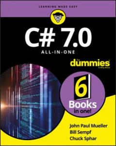C# 7.0 All-in-One For Dummies - 2862403626